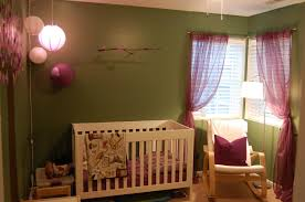 bedroom alluring green painted wall and white framed windows Poang Rocking Chair For Nursery