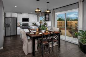 subway tile and shades of gray define the tara plan a new home by