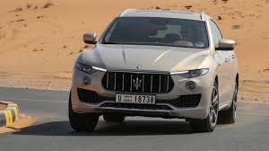 gray maserati maserati levante 3 0 v6 s 2017 review by car magazine