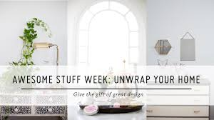 awesome stuff week unwrap your home holiday gift guide diy