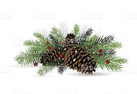 pine cone christmas decoration stock vector art 136370563 istock