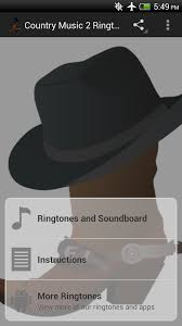 amazon com top country music ringtones ii appstore for android