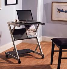 Small Rolling Computer Desk Furniture Small Table Desk Small Computer Desk On Casters