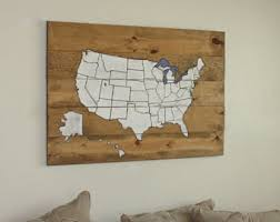 Map Home Decor Map Decor Etsy