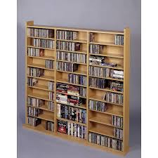 wood cd dvd cabinet awesome white unique design creative storage dvd box ideas racks