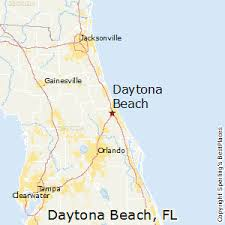florida towns map best places to live in daytona florida