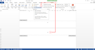 cara membuat nomor halaman yang berbeda di word 2013 cara membuat nomor halaman berbeda dalam satu dokumen di microsoft