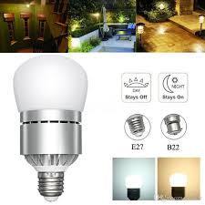 led light bulb with dusk to dawn sensor best e26 e27 motion sensor light dusk to dawn led lights bulb 12w