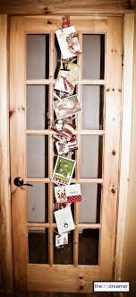 christmas card holder ribbon christmas card holder the d i y dreamer