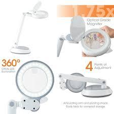 Ott Light Desk Lamp Ottlite Space Saving Led Magnifier Desk Lamp Giveaway Moogly