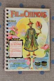 fil au chinois 50 pages note book inspired calender dates