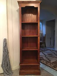 solid wood bookcase bookshelf deal reduced price home