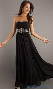 strapless long black dress all women dresses