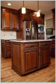 staining oak cabinets darker how to stain kitchen cabinets without