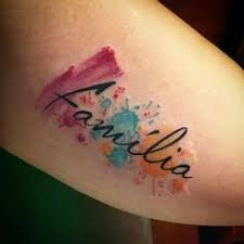 47 name tattoos identities inked in skin water color tattoos