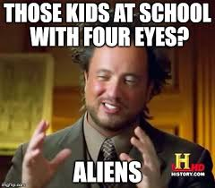 Giorgio Tsoukalos Meme Generator - kids with glasses in the eyes of giorgio tsoukalos imgflip