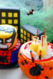 Halloween Party Cake by Marvel Superhero Halloween Party An Alli Event