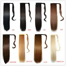 ponytail hair extensions wholesale retail 18 colors available drawstring ponytail hair