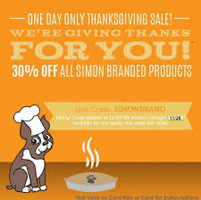 happy thanksgiving we re giving thanks for you simon says
