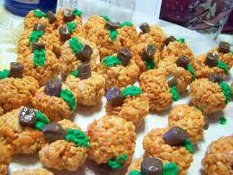 Rice Crispy Treat Pumpkins Rice Krispie Treats Jo U0027s Delights