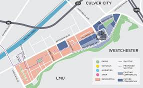 Culver City Map Amenities I O At Playa Vista