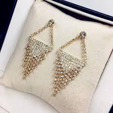 Chandelier Gold Earrings Popular Designer Chandelier Earrings Buy Cheap Designer Chandelier