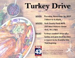 give the of a meal this thanksgiving york county