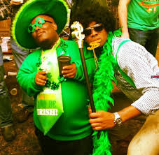 why are black people celebrating and saying happy st patrick u0027s