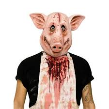 psycho pig overhead halloween mask a93246