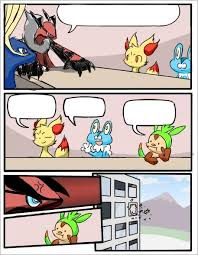 Pokemon Meme Generator - pokemon board meeting blank template imgflip