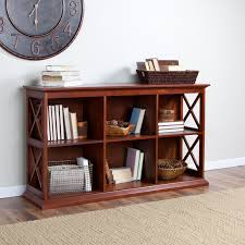 belham living hampton tv stand bookcase cherry hayneedle