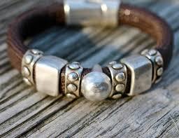 bracelet leather man silver images 1210 best men 39 s bracelets images bracelets for men jpg