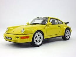 porsche 911 964 turbo amazon com 4 5 inch porsche 911 964 turbo scale diecast model