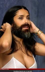 Salma Hayek Meme - bearded lady meme lady best of the funny meme