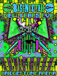 bassnectar nye poster design the poster for bassnectar s new years show in nashville
