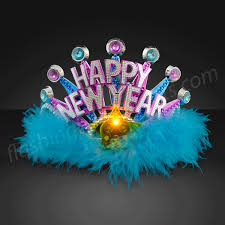 led new years new years party princess tiaras with led by