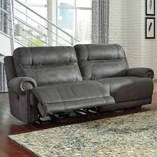 Gray Recliner Sofa Grey Reclining Home Design Ideas And Inspiration