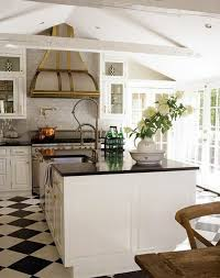 cuisine sol noir carrelage cuisine blanc et noir finest attrayant cuisine