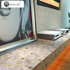 mosaic tiles bathroom ideas glass mosaic tile iridescent golden glass tile bathroom