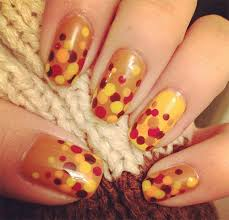 easy nail designs thanksgiving beautify themselves with sweet nails