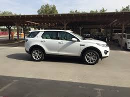 land rover discovery sport 2017 white life with a land rover discovery sport team bhp