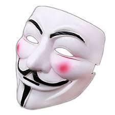 V For Vendetta Mask V Anonymous Halloween Masks Fancy For Vendetta Mask Guy Fawkes