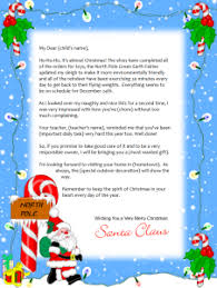 letters from santa free letters from santa pole crna cover letter