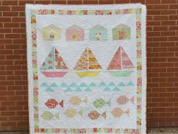 Beach Theme Quilt Pretty Little Quilts Summer Beach Quilt Tutorial