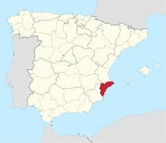 The Map Of Spain by Province Of Alicante Wikipedia