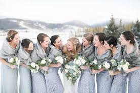 fur shawls for bridesmaids 17 bridesmaid style ideas for a winter wedding faux fur wrap