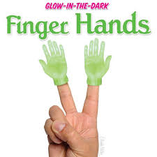 glow in the glow in the finger archie mcphee