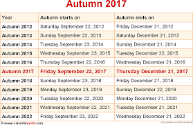 When Is Halloween In Usa When Is Autumn 2017 U0026 2018 Dates Of Autumn