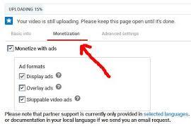 upload video di youtube menghasilkan uang cara mendapatkan uang dari video youtube monetisasi adsense