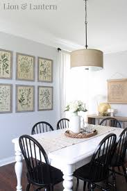 coastal farmhouse dining room lion u0026 lantern